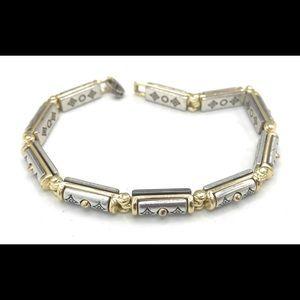 Brighton Link Silver Plated Bracelet #106